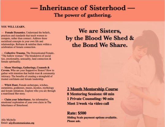 Sisterhood Inheritance Image
