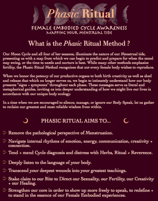 What is Phasic Ritual Img